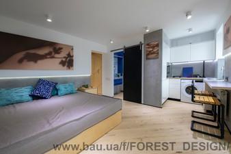 Дизайн інтер'єру квартири з реалізацією Одеса — FOREST DESIGN