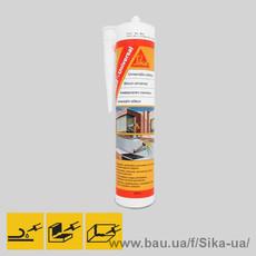 Вологостійкий силіконовий герметик на оцтовокислої основі Sikasil® universal