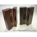 Скрытые дверные петли TECTUS производства компании Simonswerk (Германия).