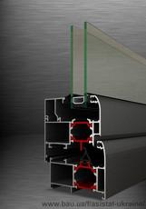 Алюминиевые оконные системы с теплоизоляцией ТЕ 62