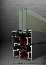 Алюминиевые оконные системы с теплоизоляцией THS 78