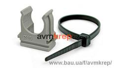 Кріплення для труб, кабелю та сантехніки