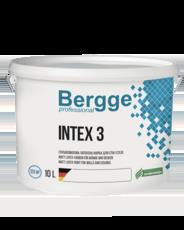 BERGGE INTEX 3 ГЛУБОКО-МАТОВАЯ ФАРБА для СТІН І СТЕЛІ