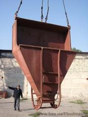Бадья и бункер раствороприемные «Туфелька», «Рюмка», «Слоник», ящик строителя,