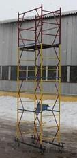 Аренда вышек-тур строительных 1,7х0,8 м, комплектации высотой от 2,6 м до 7,4 м (цена указана за комплект 2+1)