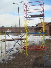 Аренда вышек-тур строительных 1,2х2 м, комплектации высотой от 3,9 м до 20,7 м (цена указана за комплект 2+1)