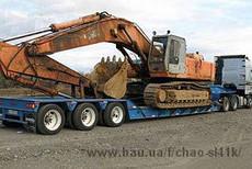 Перевезення негабаритних вантажів, великовагових вантажів