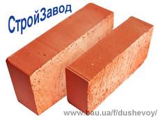 Цегла рядова повнотіла М 100 250х120х65 мм Київ