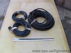 Подовжувач (переноска) герметичний із кабелю в резиновій ізоляцій кг-ШРПЛ 2х1, 2х4, 2х6, 4х6 підвищенноі гнучкрсті, маслобензостійкий