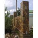 Кладка бута:забор из камня