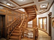Мы изготавливаем лестницы из натурального дерева любой сложности