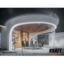 Подвесной потолок на базе кубической рейки KRAFT