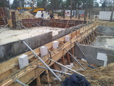 Професійна розробка фундаментів: будівель, споруд, басейнів, огорож.