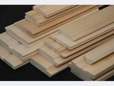 Стругання дерев'яних заготовок, прогонка на 4-х сторонньому верстаті, послуги профілювання