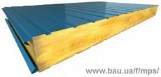 Сендвіч панелі стінові мин-вата (50 - 200 мм)