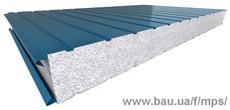 Сендвіч панелі пінопласт стінові (50 - 200 мм)