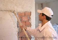 Штукатурка стін машиним способом