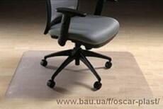 Захисний килимок під крісло. Прозорий і надійний