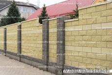 Блок декоративный (заборный) «Силта-Брик»