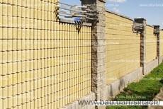Блок декоративный канелюрный (заборный)