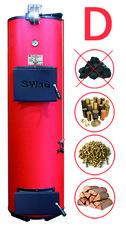 Котел побутовий (твердопаливний) SWаG 25 кВт D