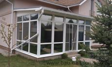 Зеркальная тонировка окон, солнцезащитная тонировка стекол