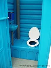 Биотуалет.Туалет-кабина мобильная (ТКМ)