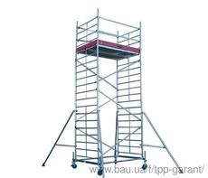 Передвижная вышка KRAUSE STABILO серия 10 (2,5х0,75 м) раб. высота 5,4 м