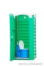 Туалетна кабінка `Укомплектована Дачна`