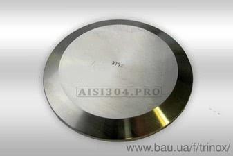 Заглушка кламповая нержавіюча DIN Dn 50 AISI 316 — Тринокс