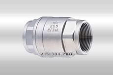 Клапан зворотний різьбовій нержавіючий ГОСТ Dn 50 AISI 304