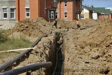 Прокладка водопровода канализации Харьков