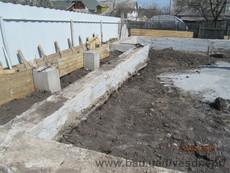 Будівництво стрічкового фундаменту для дому в Дніпропетровську