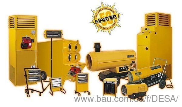 Обігрівальне обладнання MASTER на виставці ЄВРОБУДЄКСПО 2013