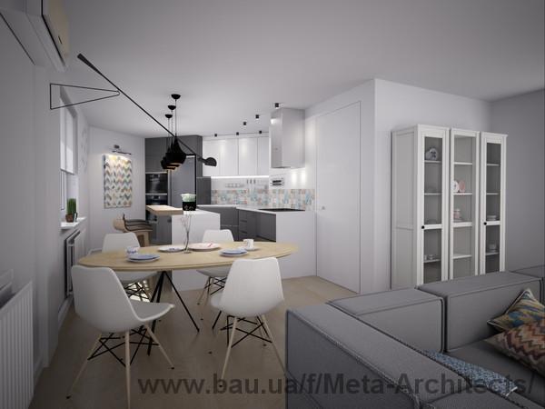 Розпочалися роботи з нового дизан-проекту квартири