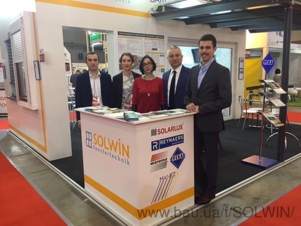 Компанія «Солвін Україна» підводить підсумки участі у виставці KievBuild - 2017