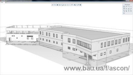 АСКОН виводить на ринок передовий 3D CAD для архітектурного проектування