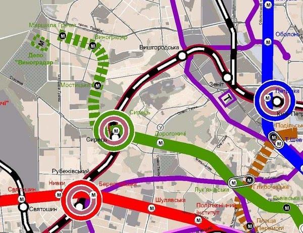 У системі Prozorro оголошено тендер на будівництво метро на Виноградар