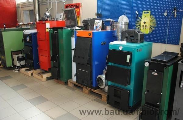 Компанія «Біопром» відкрила виставку-продаж твердопаливних котлів