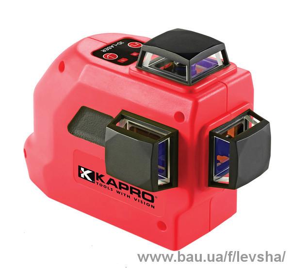 Нові лазерні нівеліри Kapro 883
