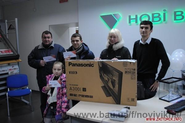 ТМ «Нові вікна» розіграла подарункові сертифікати та головний подарунок – телевізор