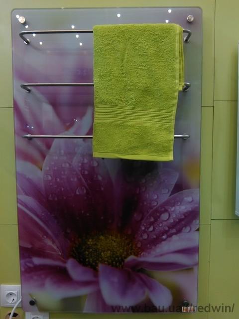 Новинка: електричний полотенцесушитель 0,2 кВт