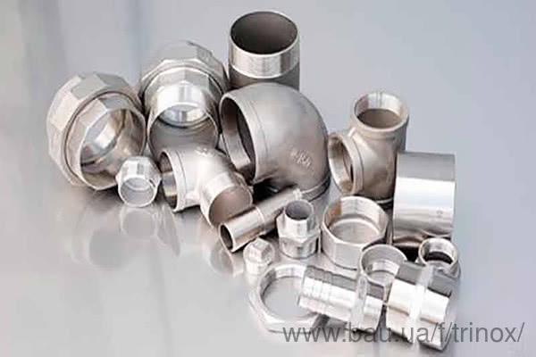 Тепер всі види нарізного фитинга з нержавіючої сталі можна купити в одному місці!