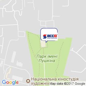 АККО ІНТЕРНЕШНЛ на мапі