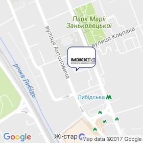 МЖК БУД на мапі