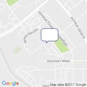 Софія на мапі