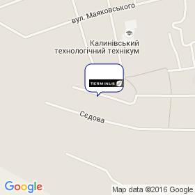 ТЕРМІНУС на мапі