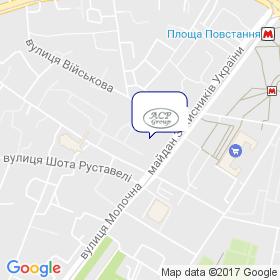 АСР-ГРУП на мапі