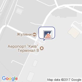 Арх-Юст-Проект на мапі