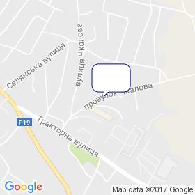 Арсенал-Центр на мапі